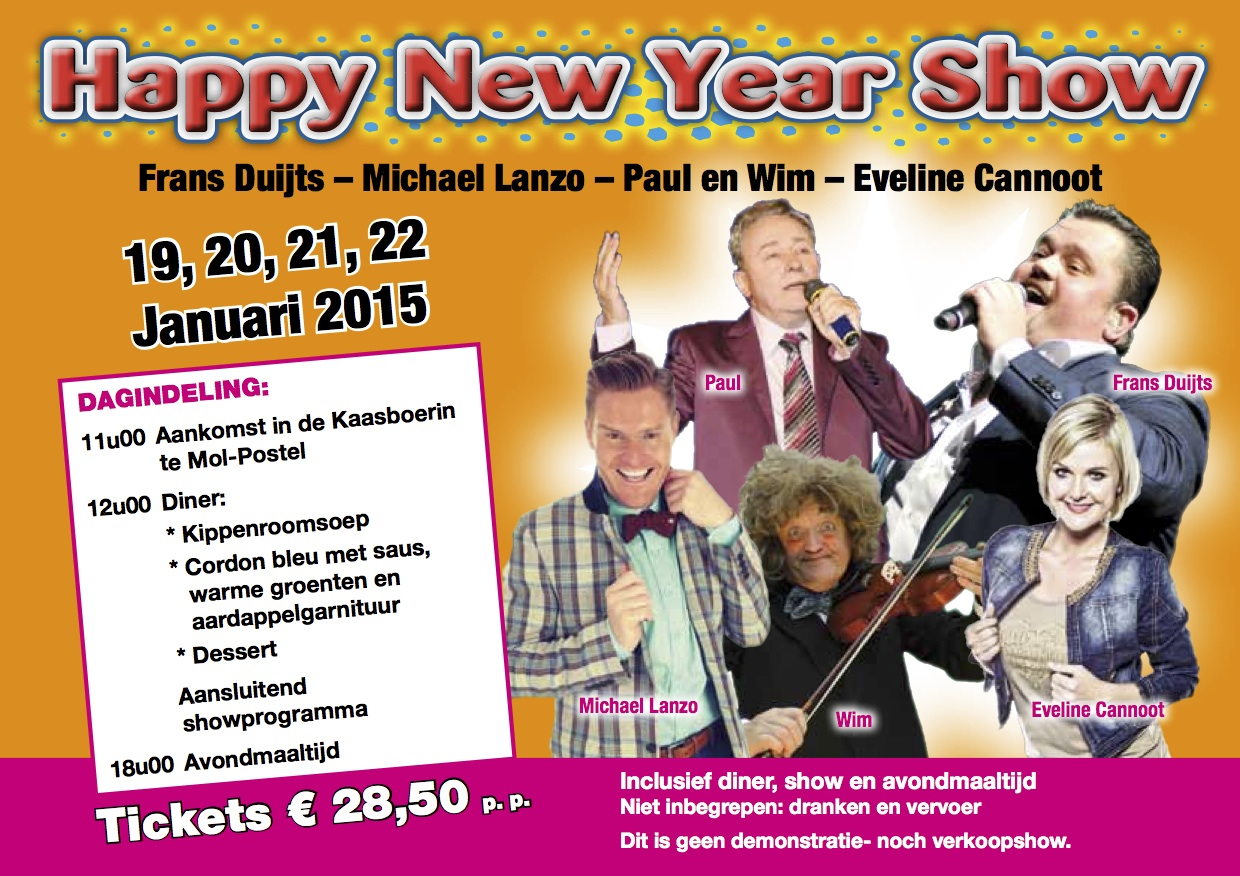 Middagshows2015_Happy New year show